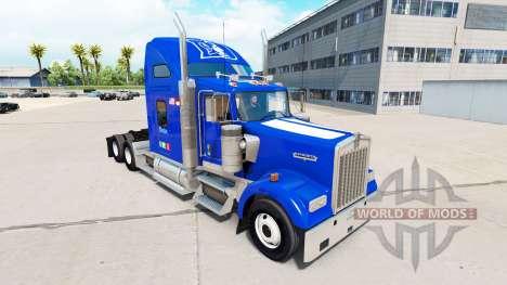 Скин Duke University Pride v1.02 на Kenworth for American Truck Simulator