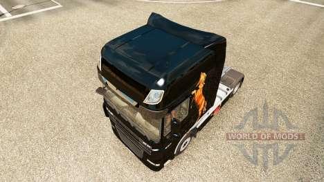 Caballos skin for DAF truck for Euro Truck Simulator 2