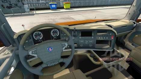 Scania T Longline [Black Amber] for Euro Truck Simulator 2