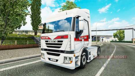 Andre Voss skin for Iveco tractor unit for Euro Truck Simulator 2