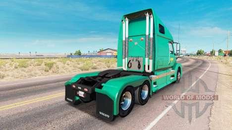 Abilene Express skin for Volvo truck VNL 670 for American Truck Simulator