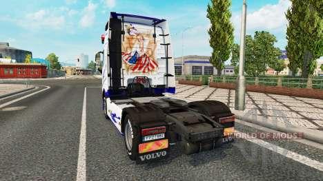 American Dream skin for Volvo truck for Euro Truck Simulator 2