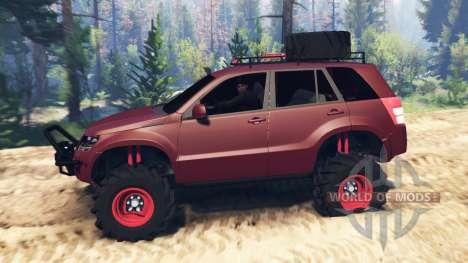 Suzuki Grand Vitara 2007 v2.0 for Spin Tires