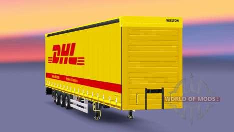 Semitrailer Wielton DHL for Euro Truck Simulator 2