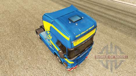 Wittwer skin for Scania truck for Euro Truck Simulator 2