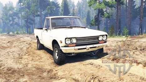 Datsun 510 [pickup] for Spin Tires