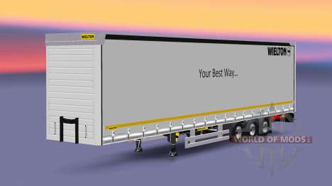 Semitrailer Wielton Your Best Way for Euro Truck Simulator 2
