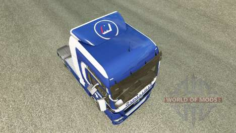 Mainfreight skin for MAN truck for Euro Truck Simulator 2