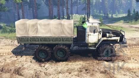 Ural-4320-10 USSR for Spin Tires