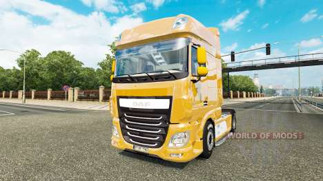 DAF XF 510 Super Space Cab v1.1 for Euro Truck Simulator 2