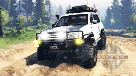 Toyota Land Cruiser 100 2000 [Samuray] v3.0 for Spin Tires