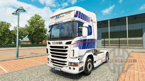 Skin M-Trex tractor Scania for Euro Truck Simulator 2