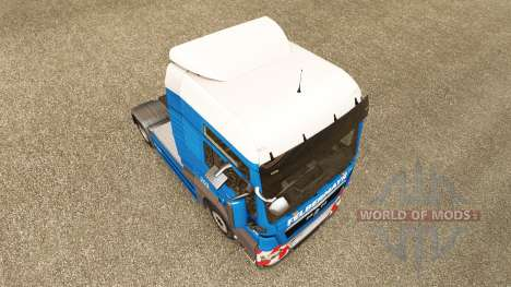 Felbermayr skin for MAN truck for Euro Truck Simulator 2