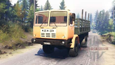 KAZ-4540 for Spin Tires