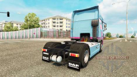 Jan Tromp skin for tractor DAF XF 105.510 for Euro Truck Simulator 2