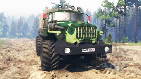 Ural-4320-31 for Spin Tires