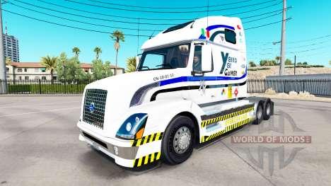 Skin Yekko Yekk Gamer on tractor Volvo VNL 670 for American Truck Simulator