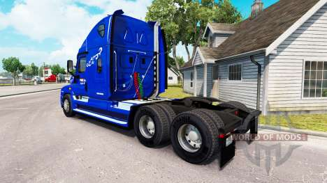 Skin Prime Inc. on tractor Freightliner Cascadia for American Truck Simulator