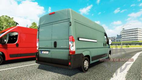 Peugeot Boxer for traffic for Euro Truck Simulator 2
