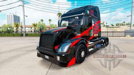 Castrol skin for Volvo truck VNL 670 for American Truck Simulator