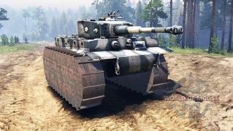 Panzerkampfwagen VI Tiger for Spin Tires