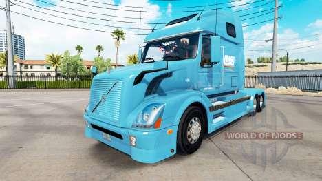 AMST skin for Volvo truck VNL 670 for American Truck Simulator