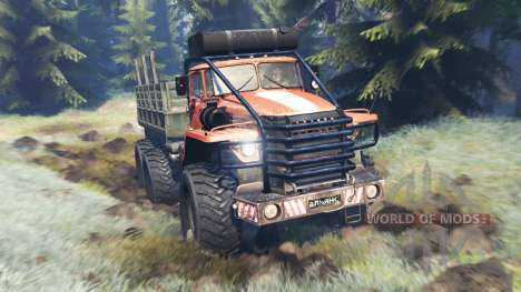 Ural-4320 Polar Explorer v13.0 for Spin Tires