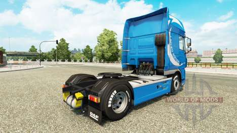 Limited Edition skin for DAF truck for Euro Truck Simulator 2
