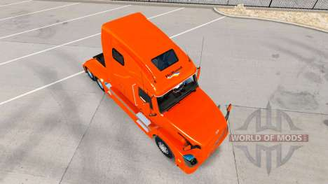 Skin Holland tractor Volvo VNL 670 for American Truck Simulator