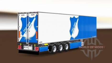 Semi-trailer Chereau TSG 1899 Hoffenheim for Euro Truck Simulator 2