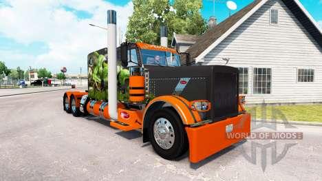 Snake skin v2.0 tractor Peterbilt 389 for American Truck Simulator