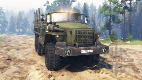Ural-4320-10 for Spin Tires