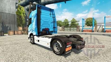 Klanatrans skin for Volvo truck for Euro Truck Simulator 2