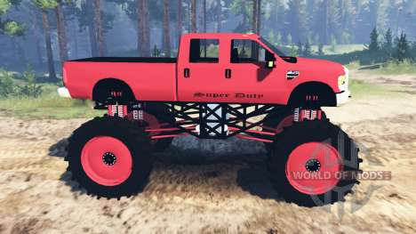 Ford F-350 Super Duty 2010 for Spin Tires