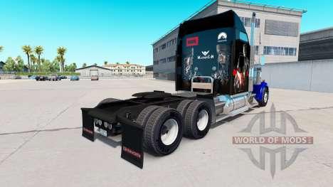 Skin Civil War for the truck Kenworth W900 for American Truck Simulator