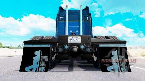 Mudguards I Support Single Moms v1.6 for American Truck Simulator