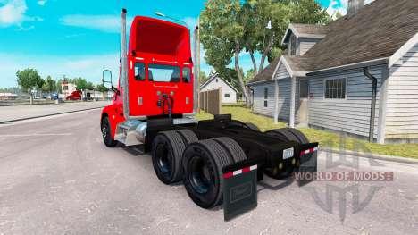 Skin Coca-Cola truck Peterbilt for American Truck Simulator