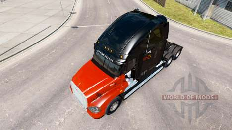 Skin CNTL on tractor Freightliner Cascadia for American Truck Simulator