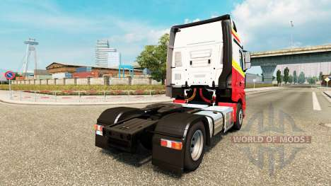 Simon Loos skin for the truck Mercedes-Benz for Euro Truck Simulator 2