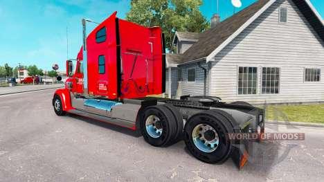 Skin Knights on the tractor Freightline Coronado for American Truck Simulator