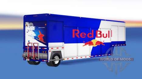 Semi-trailer for transportation of drinks for American Truck Simulator