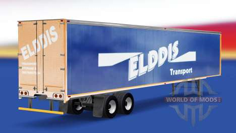 Skin Elddis Transport on semi-trailer for American Truck Simulator
