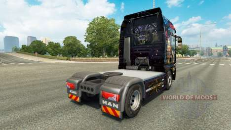 Star Wars skin for MAN truck for Euro Truck Simulator 2