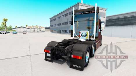 Iveco Strator (PowerStar) 6x4 for American Truck Simulator