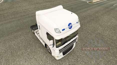 Schmidt Heilbronn skin for DAF truck for Euro Truck Simulator 2