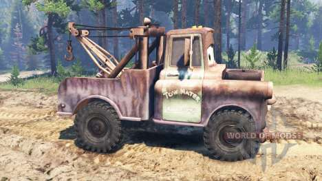 Mater for Spin Tires
