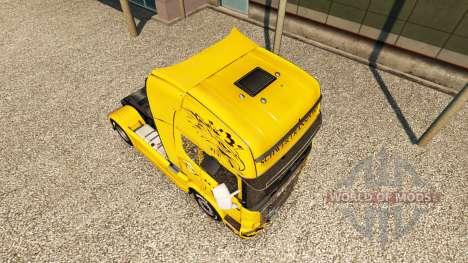 Schwertransport Hanys skin for Scania truck for Euro Truck Simulator 2