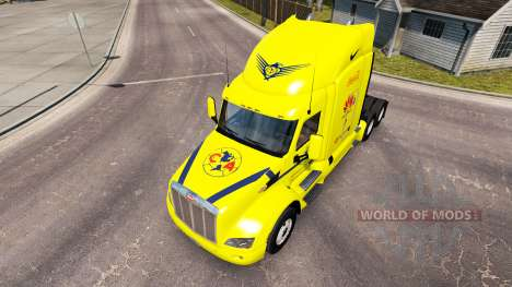 America skin for the truck Peterbilt for American Truck Simulator