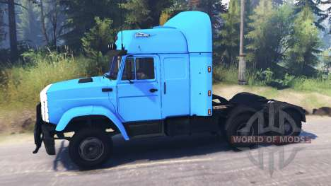 ZIL-4331 6x6 for Spin Tires