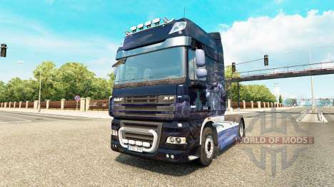 Winter Wolves skin for tractors for Euro Truck Simulator 2
